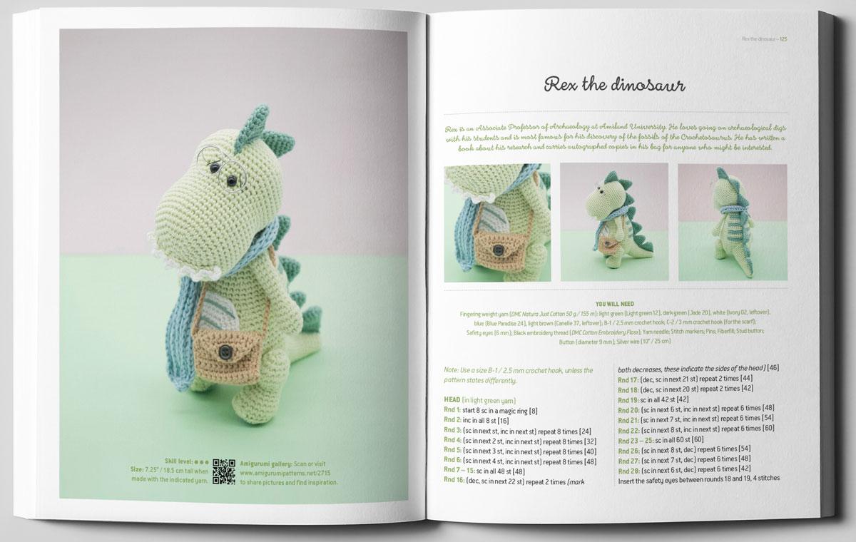 Natura Amigurumi Crochet Pattern Book - Books - DMC | 760x1200
